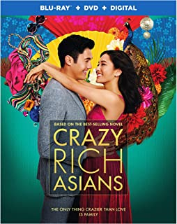 Crazy Rich Asians (Blu-ray + DVD + Digital Combo Pack)