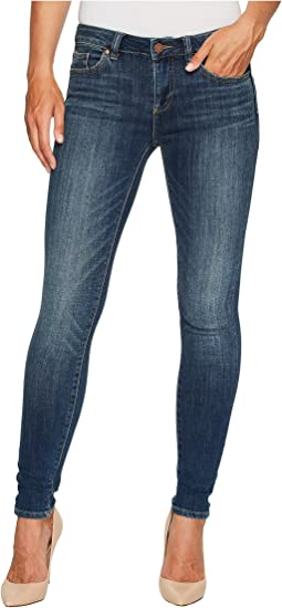 TWO by Vince Camuto - Indigo Five-Pocket Skinny Jeans in Mid Vintage