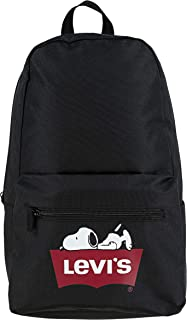 Levi's Kids' Big Logo Backpack, black Snoopy, O/S