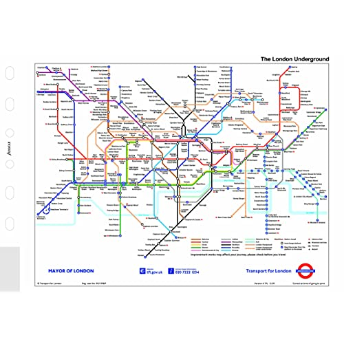 London Tube Map Amazon Co Uk