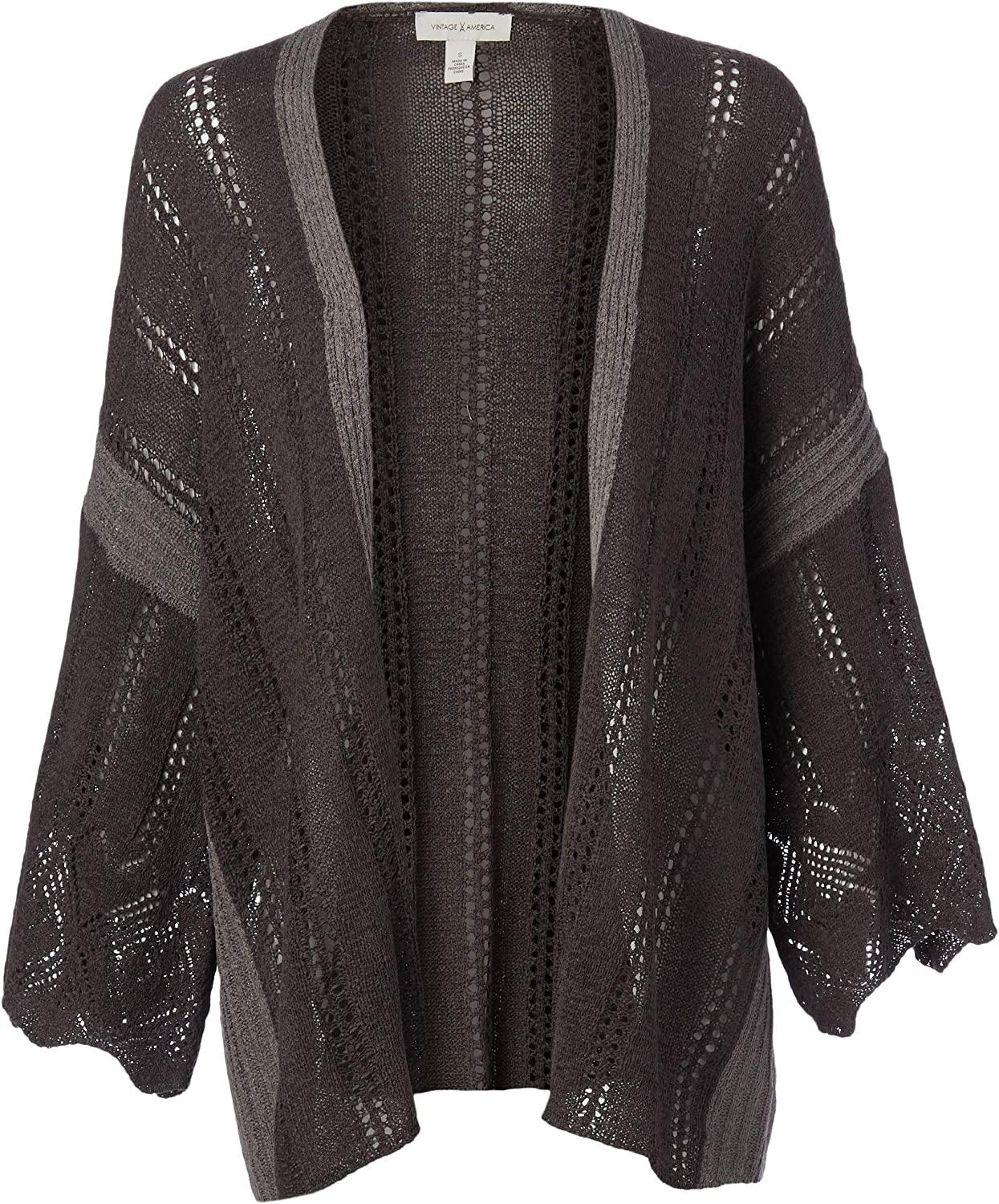 Vintage America Blues Women's Timber Flare Gifts Car Stitch Sleeve Ranking TOP8 Rib