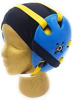 Wrestling Hair Cap - Under The Headgear 4 Strap Style - Black