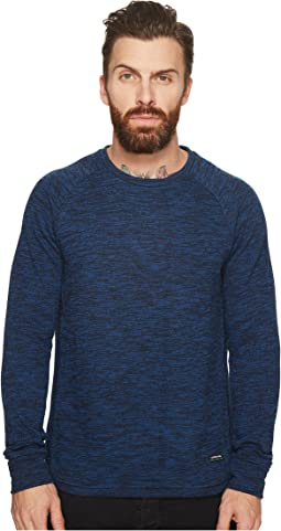 Scotch & Soda - Sweat in Brushed Melange Felpa Quality