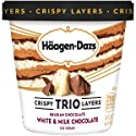 Haagen-Dazs Trio Triple Chocolate Ice Cream, 14 oz (Frozen)
