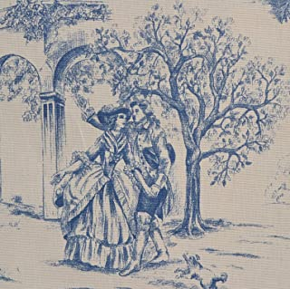 Best blue and white toile fabric Reviews