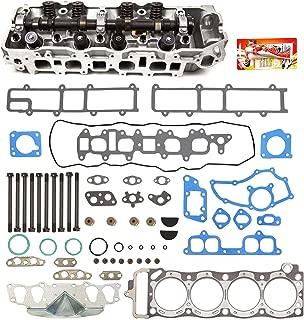 Fits 85-95 Toyota 22R 22RE 22REC 2.4 SOHC 8V Complete Cylinder Head Gasket w/Head Gasket Set Head Bolts