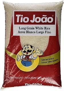 Tio Joao Long Grain White Rice 10 lbs    Arroz Tio Joao  4.54kg