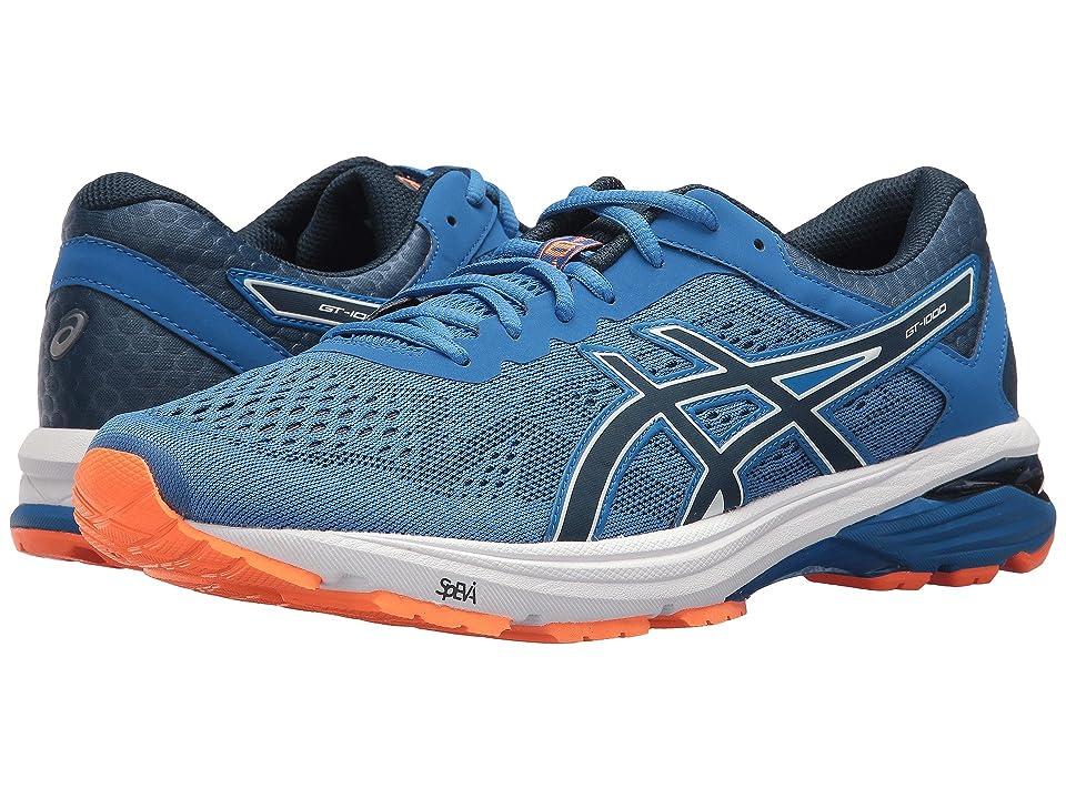 ASICS GT-1000 6 (Victoria Blue/Dark Blue/Shocking Orange) Men