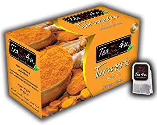 Sponsored Ad - Tea4U Herbal Infusion Tea Bags - Turmeric