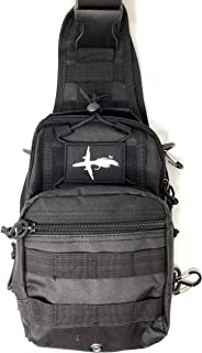 El Bolso Fly Fishing Sling Pack | Available Loaded with Files, Tools, Accessories or Unloaded | Tactical Fishing Pack | The Perfect Size Bag for Fly Fishing | Super Simple Yet Functional & Durable