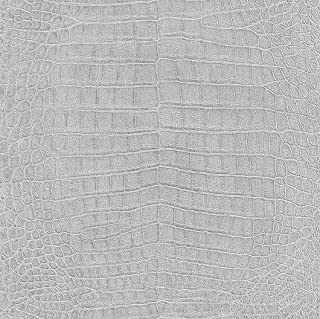 474145 - African Queen II Animal Skin Metallic Silver Galerie Wallpaper