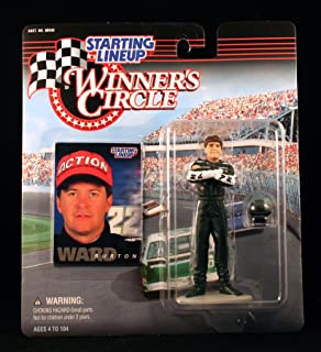 Ward Burton / MBNA America 1998 Winner's Circle Starting Line NASCAR Series Action Figure & Exclusive Collector Trading Card