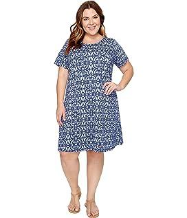 Plus Size Island Batik Sadie Dress