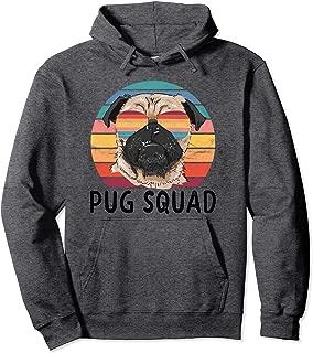 Pug Dog Squad Goals Pullover Hoodie