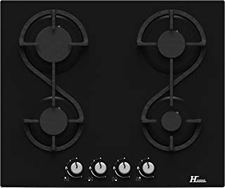 Plaque gaz Hudson HTG4VN - 4 foyers