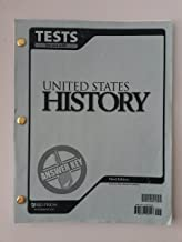 United States History Tests Answer Key 3rd Edition