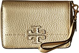 Tory Burch - McGraw Metallic Bifold Wallet
