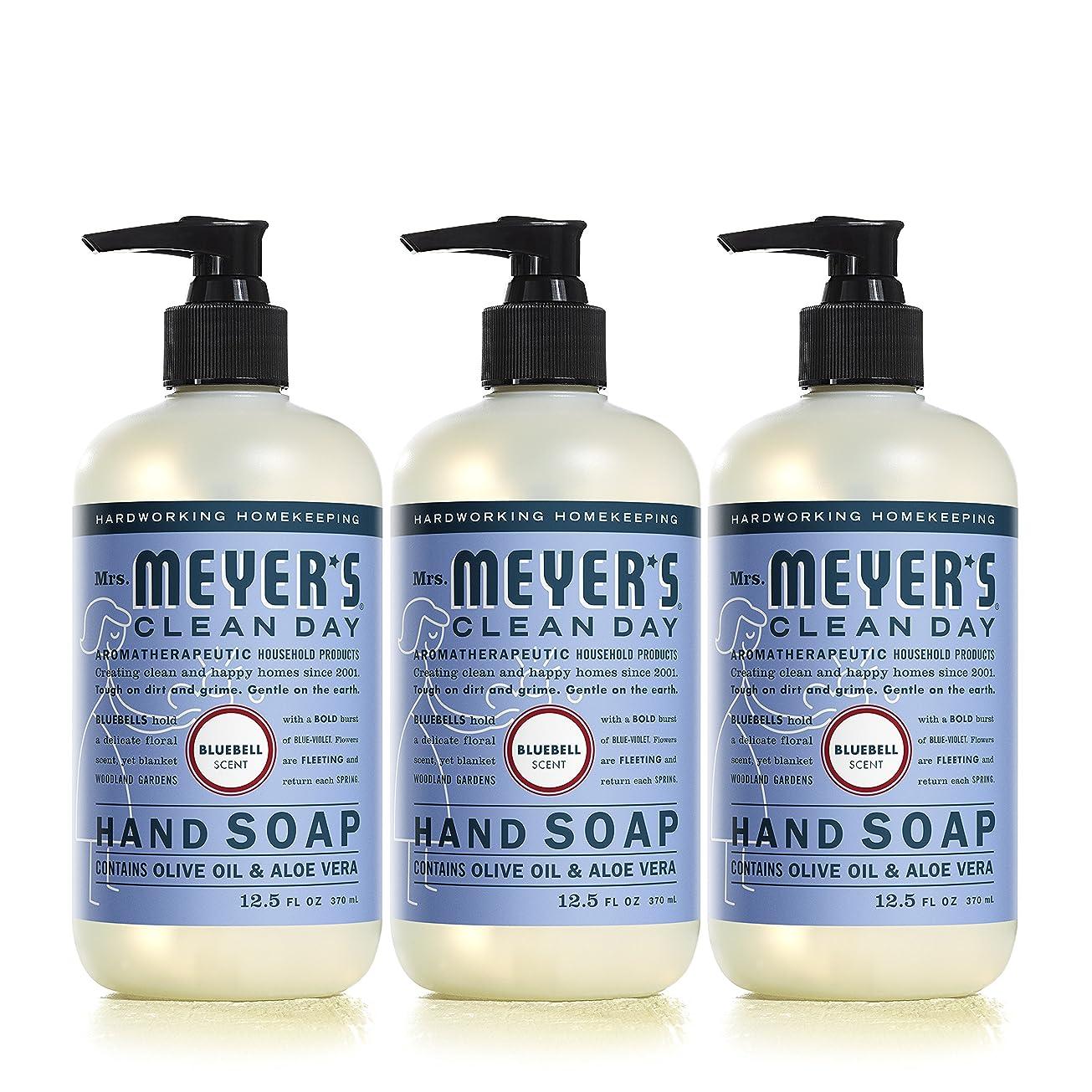 軸発行カセットMrs。Meyer 's Clean Day Hand Soap、?ブルーベル、12.5?FL OZ