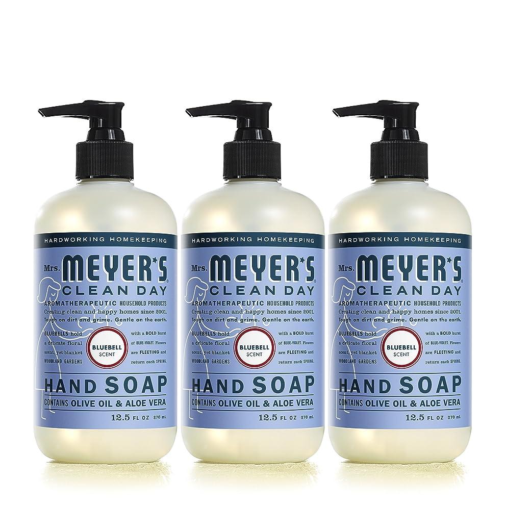 Mrs。Meyer 's Clean Day Hand Soap、?ブルーベル、12.5?FL OZ