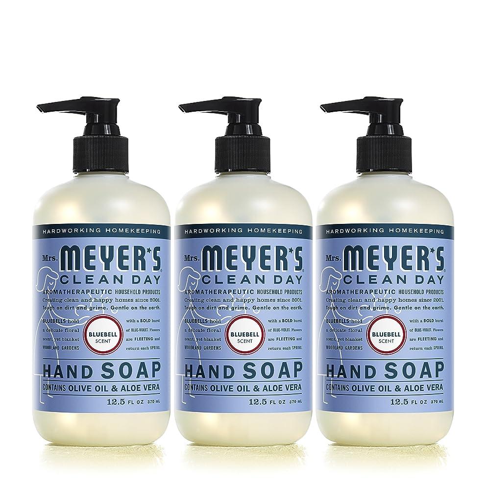 ラフ睡眠反発トレッドMrs。Meyer 's Clean Day Hand Soap、?ブルーベル、12.5?FL OZ