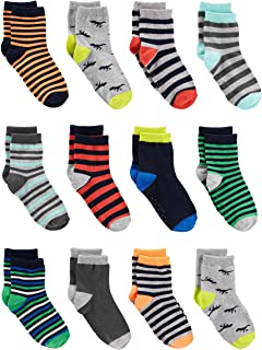Simple Joys by Carter's Baby and Toddler Boys' 12-Pack Sock Crew