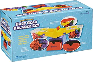 Learning Resources Explore Volume and Compare Solids and Liquids with This Sturdy Bucket Balance, Including Weights and counters