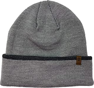 قبعة صوف رجالي من Timberland (رمادي فاتح (T100366C-C81)، مقاس واحد)