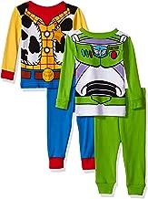 Disney Toy Story Boys' 4-Piece Cotton Pajama Set