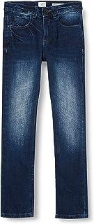 IKKS Junior Jean Denim Skinny Noir Jeans para Niños
