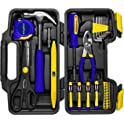 39-Piece Goodyear Tool Set with Heavy Duty Plastic Carry Case