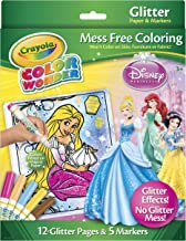Crayola Color Wonder Disney Princess Glitter Paper and Markers