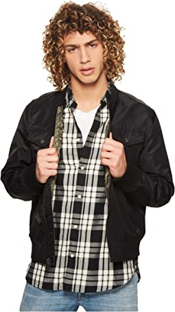 Flight Satin Four-Pocket Bomber