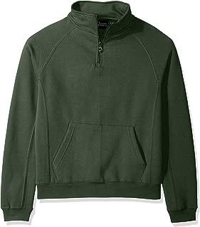 Key Apparel Mens Polar King Men's Quarter Zip Pull Over Sweatshirt Long Sleeve Sweatshirt