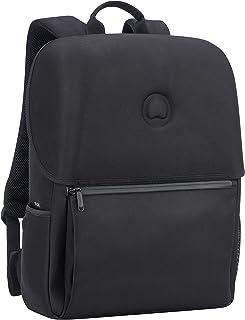 Delsey PARIS Laumiere Bolsa escolar, 46 cm, 21 liters, Negro (Noir)