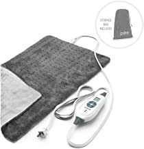 "Pure Enrichment PureRelief XL (12""x24"") Electric Heating Pad for Back Pain and.."