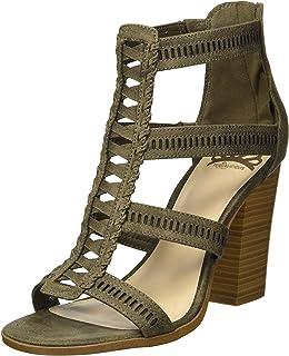 faef0f9df Amazon.ca  Green - Heeled   Sandals  Shoes   Handbags