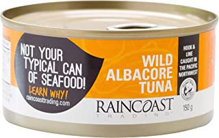 Raincoast Trading Solid White Albacore Tuna (Pack of 12)