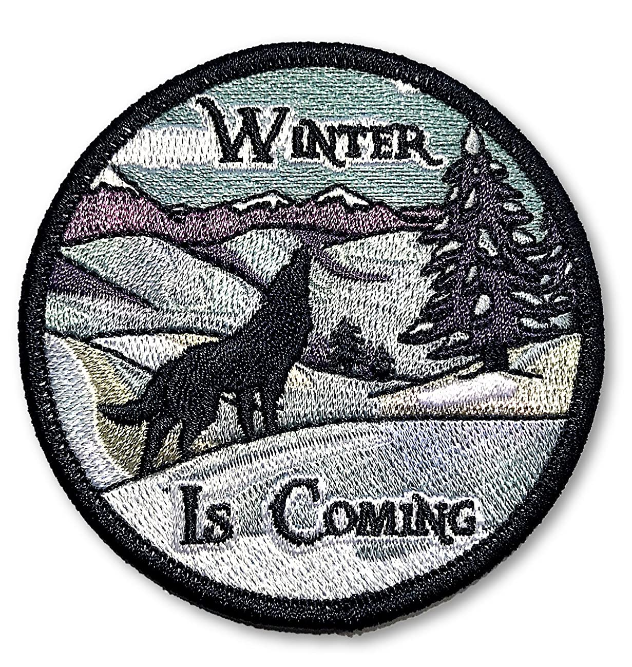 O'Houlihans - Winter is Coming - Game of Thrones Iron On Patch