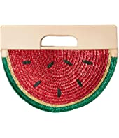 Alice + Olivia - Donna Watermelon Half Circle Bag