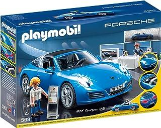 comprar comparacion Playmobil Porche- Porsche Réplica del Porche 911 Targa 4S Playset, Multicolor, 9,5 x 24,8 x 34,8 cm (Playmobil 5991)