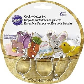 Wilton 2308-0551 6-Piece Easter Cookie Cutter Set, Mini, Assorted