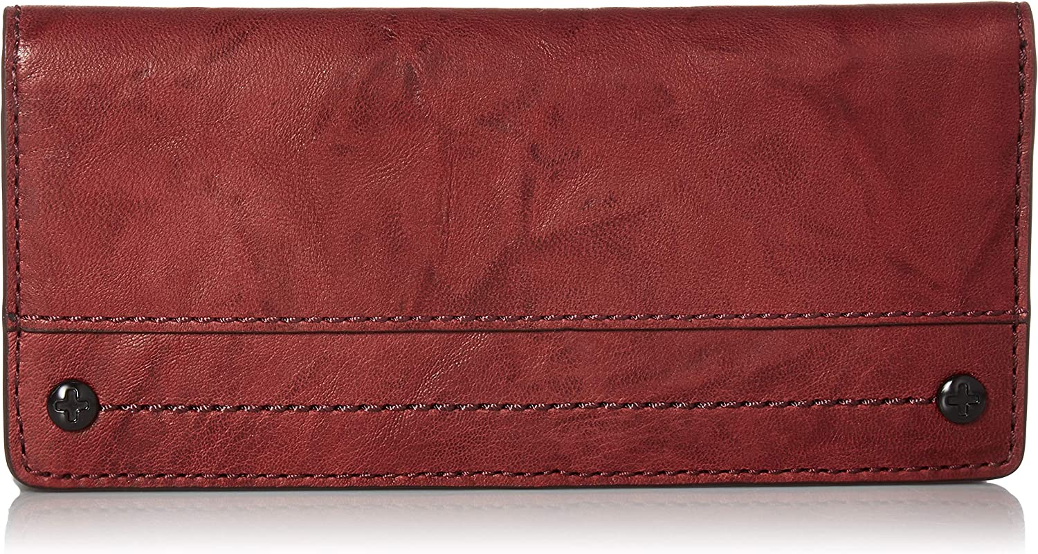 FRYE Demi Continental Slim Snap Wallet
