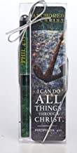 Anchored in Christ Do All Things 2 Piece Ink Pen and Bookmark Gift Set