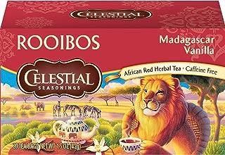 Celestial Seasonings Herbal Tea, Rooibos Madagascar Vanilla, 20 Count Box