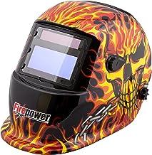 Firepower 1441-0088 Auto-Darkening Welding Helmet with Skull and Fire Design