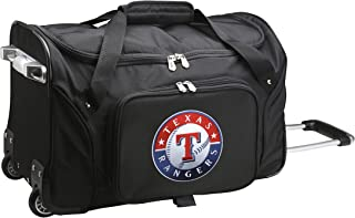 fbb6d59f8c37 MLB Texas Rangers Wheeled Duffle Bag