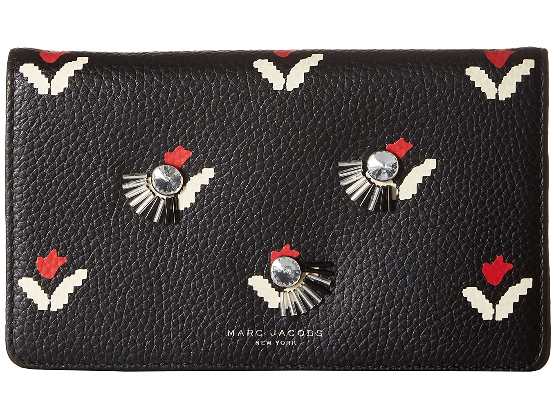 環境前方へアボート[マークジェイコブス] Marc Jacobs レディース Embellished Tulip Wallet Leather Strap クラッチ [並行輸入品]