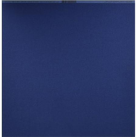Artemio Bazzill papier cartonné 12x12 pouces amiral/toile LOT de 25 feuilles.