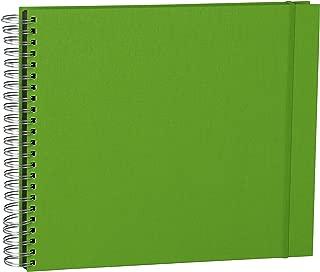 Semikolon Maxi Mucho Wire-Bound Linen Photo Album, Lime Green (41212)