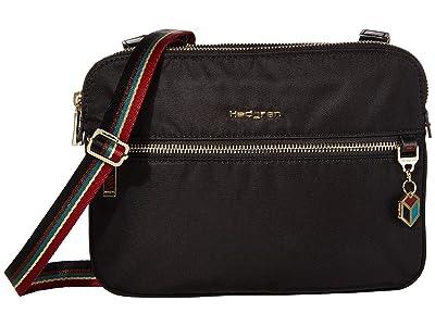 Hedgren Attraction 2 Compartment Crossbody (Special Black) Handbags